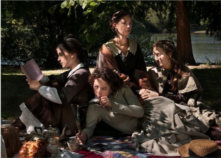 """Anne Kuhn, """"Les 4 Filles du Dr March (Louisa MAY ALCOTT)"""", Série Héroïnes"""
