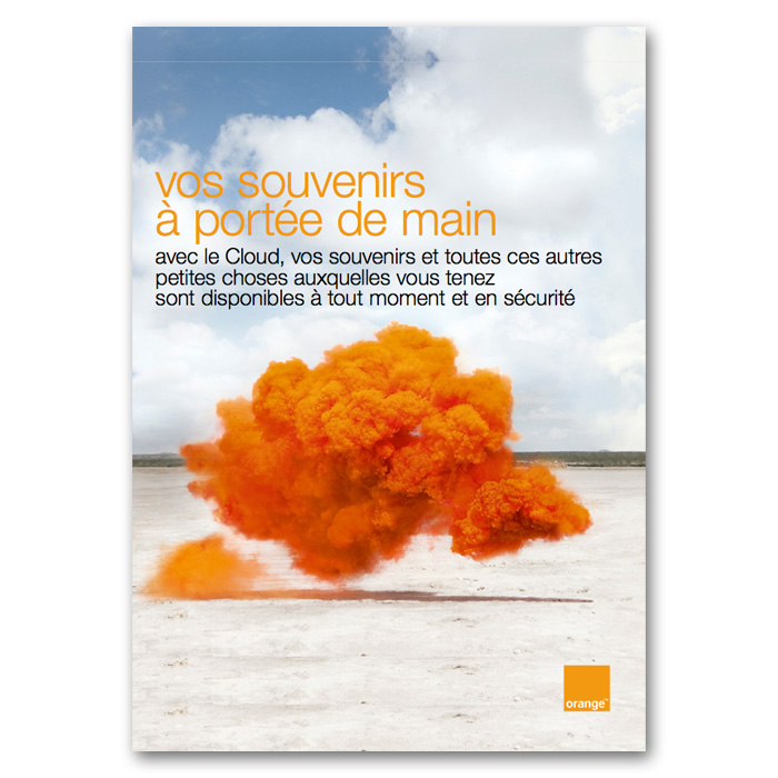 lola-guerrera-orange-cloud-poster